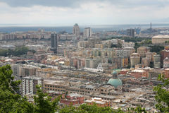 Amazing view of Genova (Italy) Royalty Free Stock Photo