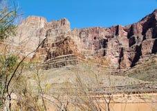 Amazing view on Grand Canyon, Arizona Blue sky background. Beautiful nature backgrounds royalty free stock photos