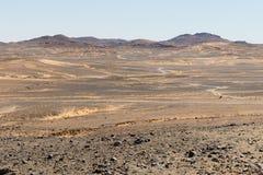 Amazing view of the great sand dunes in the Sahara Desert, Erg Chebbi, Merzouga, Morocco royalty free stock photo