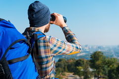 Amazing view. Royalty Free Stock Images