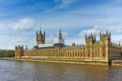 Amazing view of Houses of Parliament, Palace of Westminster,  London, England Stock Image