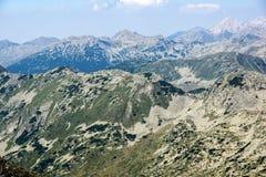Amazing view from Kamenitsa  peak in Pirin Mountain Stock Photography