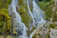 Amazing view of Krushuna Waterfalls, near the city of Lovech Stock Image