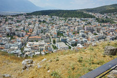 Amazing view of Lamia City Stock Photos