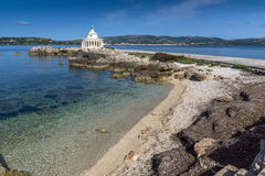 Amazing view of Lighthouse of St. Theodore at Argostoli,Kefalonia, Greece. Amazing view of Lighthouse of St. Theodore at Argostoli,Kefalonia, Ionian islands Royalty Free Stock Photos