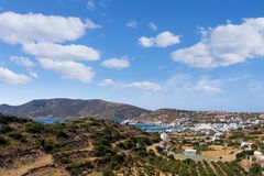 Amazing view in Lipsi island, Dodecanese, Greece. Amazing view in Lipsi island, Greece Stock Photography