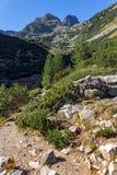 Amazing view of Malyovitsa peak, Rila Mountain Royalty Free Stock Photography