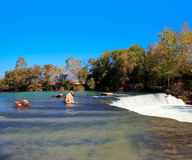 Amazing view of Manavgat waterfall Stock Photography