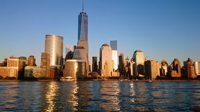 Manhattan New York skyline Royalty Free Stock Photos