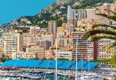 Amazing view of Monaco city Stock Photo