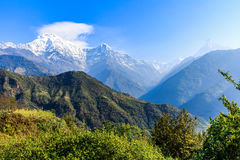 Amazing view in the mountains Stock Photos