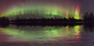 Free Amazing View Of The Aurora Borealis Royalty Free Stock Image - 63535236