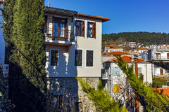 Amazing view of old town of Xanthi, East Macedonia and Thrace Stock Photography