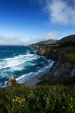 Amazing View of Pacific Coast Around Road Number 1, California Stock Image