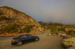 Amazing view of Pacific coast, California. Beautiful coast near Big Sur, California Stock Photography