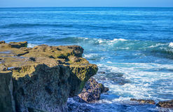 Amazing view of Pacific coast, California. Beautiful pacific coast near San Diego, California Stock Images