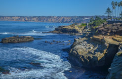 Amazing view of Pacific coast, California Stock Photos