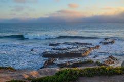 Amazing view of Pacific coast, California. Beautiful pacific coast near Santa Barbara, California Stock Photos