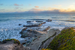 Amazing view of Pacific coast, California Royalty Free Stock Images