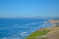 Amazing view of Pacific coast near San Diego, California. Beautiful view of pacific coast near San Diego, California Royalty Free Stock Photography
