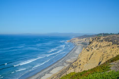 Amazing view of Pacific coast near San Diego, California. Beautiful view of pacific coast near San Diego, California stock image