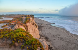 Amazing view of Pacific coast near Santa Barbara, California Stock Photos