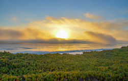 Amazing view of Pacific coast near Santa Barbara, California Stock Images