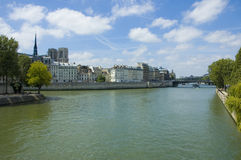 Amazing view of Paris on a fine day Stock Photography