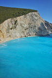 Amazing view of Porto Katsiki Beach, Lefkada, Ionian Islands Stock Images