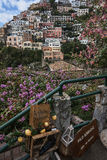 Amazing view of Positano Royalty Free Stock Photos