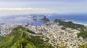 Amazing view of Rio de Janeiro with the Sugarloaf Mountain, Brazil - Latin America Stock Photography