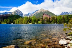 Amazing View - Strbske Pleso royalty free stock image