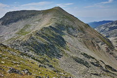 Amazing view to kralev rid peak,  Pirin Mountain. Bulgaria Royalty Free Stock Photo