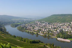 Amazing view to Rhine valley. Germany Royalty Free Stock Image