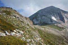Amazing view towards Vihren Peak, Pirin Mountain Stock Photos