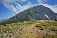 Amazing view towards Vihren Peak, Pirin Mountain Stock Photography