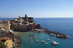Amazing view of Vernazza Stock Photography