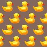 Amazing vintage duck brown pattern Stock Photos