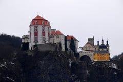 Vranov nad Dyji castle, Czech Republic. Amazing Vranov castle in Czech Republic Stock Photos