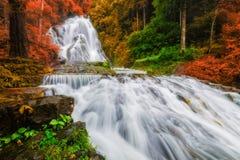 Amazing waterfall Stock Photography