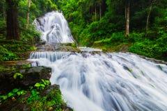 Amazing waterfall Stock Images