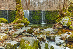 Amazing Waterfall on Crazy Mary River, Belasitsa Mountain Royalty Free Stock Photography