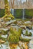 Amazing Waterfall on Crazy Mary River, Belasitsa Mountain Stock Photo