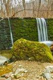 Amazing Waterfall on Crazy Mary River, Belasitsa Mountain Stock Image