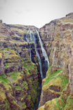 Amazing waterfall in Iceland. Stock Photos