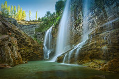 Amazing  waterfall Royalty Free Stock Photo