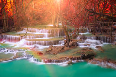 Amazing waterfall in Thailand Royalty Free Stock Photography