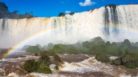 Amazing Waterfalls in Brazil South America stock image