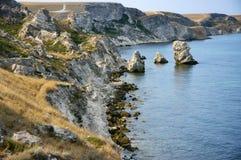 Amazing weathering rocks Royalty Free Stock Photo