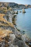 Amazing weathering rocks Royalty Free Stock Images